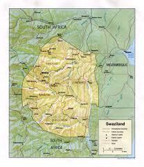 Wmu Map Swaziland 2017 Mission Trip