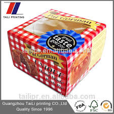 Where To Buy Pie Boxes Window Pork Pie Paper Box Food Packaging Box Pie Box Tlp13111805
