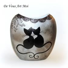 porcelaine peinte main vase moderne