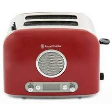 Russell Hobbs Toaster Heritage Russell Hobbs Heritage 4 Slice Toaster In Red Buy Small Kitchen