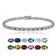 birthstone bracelets for sterling silver bracelets for less overstock