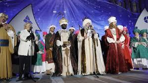 fotos reyes magos cabalgata madrid manuela carmena cede de nuevo el palco vip de la cabalgata de reyes
