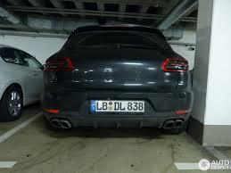 Porsche Macan Matte Black - porsche 95b macan turbo 2 february 2014 autogespot