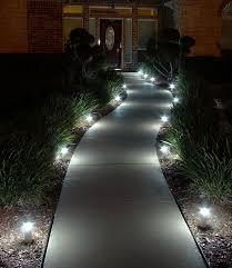 Landscape Path Light Mesmerizing Led Path Lights On Landscape Lighting Outdoor Pathway