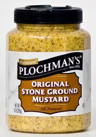 napa valley ground mustard american deli plochman s stoneground mustard 9 oz