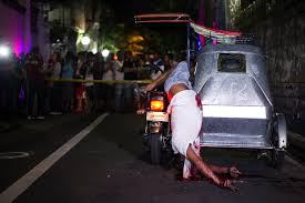 philippines tricycle dead bodies and hellish prisons on the philippines police