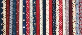 10 squares americana fabric collection precut size fabrics