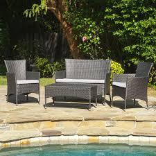 best selling home decor barcadera wicker 4 piece patio