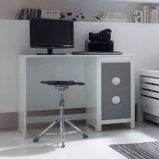 bureau 100 cm bureau 100 cm petit bureau blanc laqué eyebuy