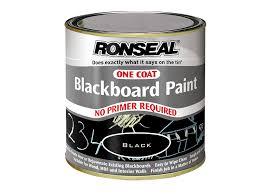 ronseal ocbbp250 one coat blackboard paint 250ml amazon co uk
