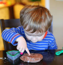 chocolate salt dough recipe for ornaments