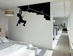 rock climbing wall art sticker boys decal sports vinyl mural wa605 rock climbing wall art sticker boys decal sports vinyl mural wa605