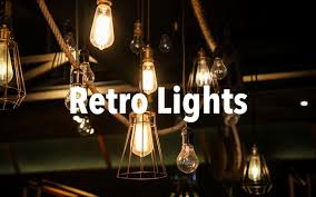 what vintage style lights are available