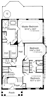 home plans for narrow lots house plans for the narrow lot by studer residential designs