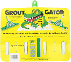 amazon com grout gator cleaning brush health u0026 personal care