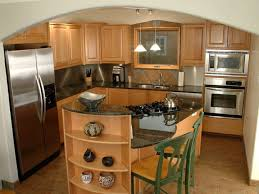 Stove On Kitchen Island Contemporary Traditional Kitchen Design Black Wood Island