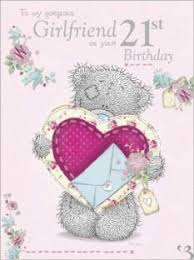 large me to you girlfriend 21st birthday card amazon co uk