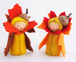 thanksgiving toys sweet waldorf inspired flower dolls that celebrate the seasons