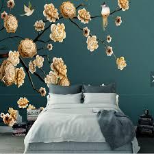 3d mural custom 3d wallpaper walls roman columns surgery flower