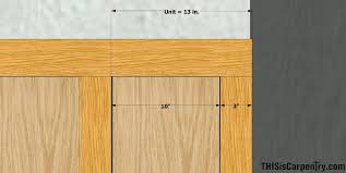 Wainscoting Shaker Style Wainscot Layout Made Easy Thisiscarpentry