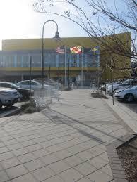 ikea parking lot sidewalk at the ikea parking lot sidewalk city