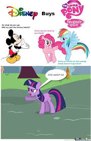Mlp Fim Meme - disney buys mlp fim by cheprimo meme center