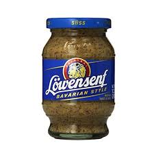 lowensenf mustard lowensenf bavarian style sweet mustard 250ml