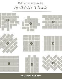 Subway Tile Ideas For Kitchen Backsplash 7 Creative Subway Tile Backsplash Ideas For Your Kitchen Subway