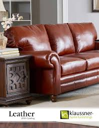 Klaussner Asheboro Nc Leather 2016 Catalog By Klaussner Home Furnishings Issuu