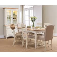 small oak extending dining table and 4 chairs dining room from