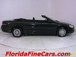 2005 brilliant black chrysler sebring convertible 543903 photo 4