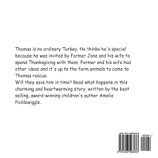 a thanksgiving tale from the turkey amelia picklewiggle