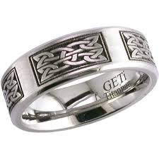 celtic knot ring laser engraved celtic knot ring celtic wedding rings by