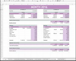Html5 Spreadsheet Easy Budget And Financial Planning Spreadsheet For Busy Families