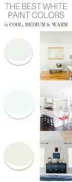 what is the best white color to paint kitchen cabinets the best white paint colors in cool medium and warm tones