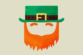 irish st patricks day leprechaun icons creative market