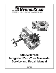 dixon ztr 4515b repair manual