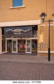 front of new look clothing shop in uk stock photo royalty free