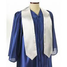 graduation stole white graduation sash 5 x72 gsto 000 72
