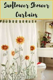Sunflower Yellow Curtains I You Sunflower Sunflower Shower Curtains