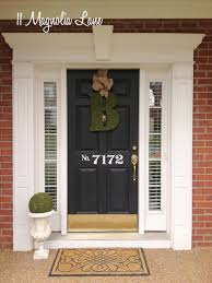 Decorations For Front Of House Best 25 Front Door Numbers Ideas On Pinterest House Address