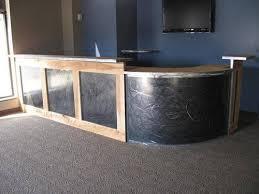 Metal Reception Desk Metal Work Of Chukk Bruursema