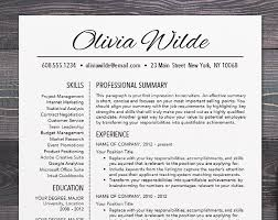 resume templates for mac resume template cv template for word mac or pc professional