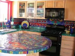 the types of tiles on mosaic ideas for kitchen custom home design