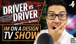 A Design Im On A Design Tv Show Wilson Driver Vs Driver Nbc Golf Channel
