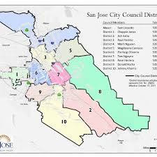 san jose district map this is san jose photo contest 2016 district map