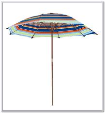 Camo Patio Umbrella by Striped Patio Umbrella 9 Ft Home Design Ideas And Pictures