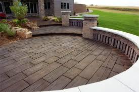 concrete paver patio ideas concrete patio ideas for the backyard