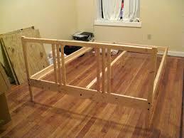 ikea tarva bed hack stretching for style diy upholstered bedframe