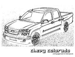 chevy truck coloring page free download